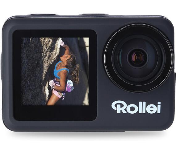 Rollei ActionCam 8S Plus / 4K 60/30fps/ Voděodolná do 10m/ CZ a SK menu/ Elektronická stabilizace obrazu (40328)