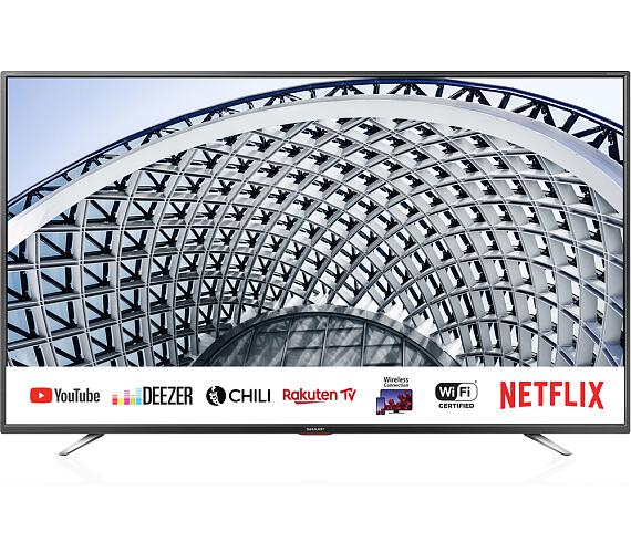 Sharp 40BG5E SMART + DVB-T2 OVĚŘENO