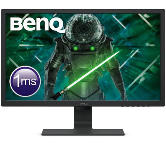 "BENQ LCD GL2480E 24""W,1920x1080,250 nits,1000:1,1ms,D-sub/DVI,HDMI,VESA,cable:VGA,Glossy Black + DÁREK Sada na Čištění Obrazovek (9H.LHXLB.FBE)"