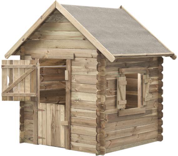 Marimex domeček dětský dřevěný Western (11640354) + DOPRAVA ZDARMA