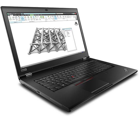 "Lenovo ThinkPad P73/ i7-9750H/ 8GB DDR4/ 512GB SSD/ P620 4GB/ 17,3"" FHD IPS/ W10P/ Černý (20QR0028MC)"