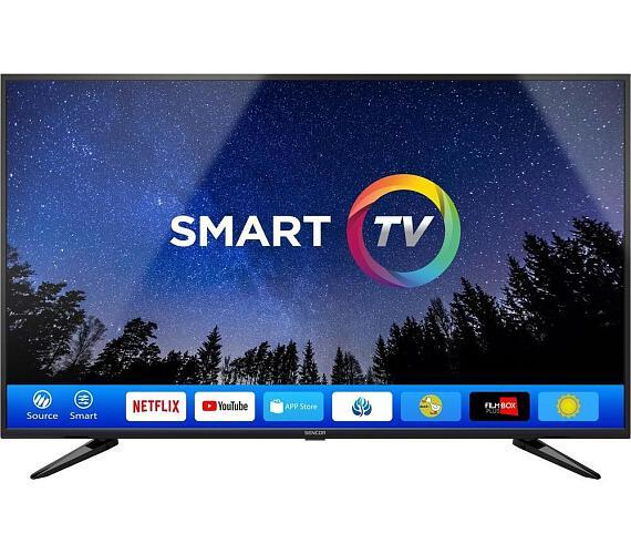 SLE 50US600TCSB UHD SMART TV Sencor + DVB-T2 OVĚŘENO