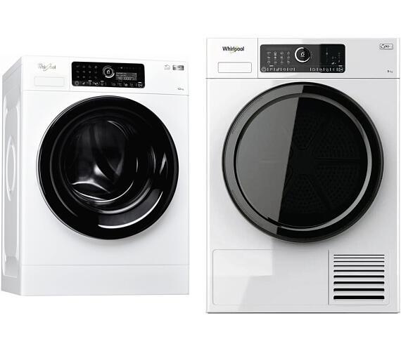 Whirlpool FSCR 12440 SupremeCare + Sušička prádla Whirlpool ST U 92E EU + DOPRAVA ZDARMA