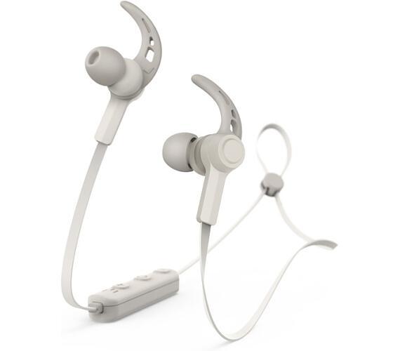 Hama headset Connect/ bezdrátová sluchátka + mikrofon/ špuntová/ Bluetooth/ citlivost 96 dB/mW/ krémově bílá (184057)