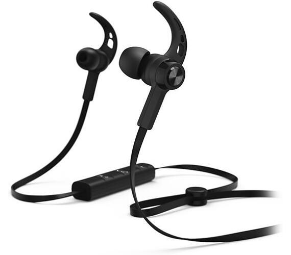 Hama headset Connect/ bezdrátová sluchátka + mikrofon/ špuntová/ Bluetooth/ citlivost 96 dB/mW/ černá (184020)