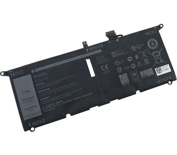 Dell XPS 13 9370 Baterie do Laptopu ( DXGH8 0H754V alternative) 7,4V 52Wh + DOPRAVA ZDARMA