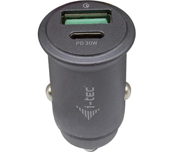 I-TEC Car Charger QC and USB-C PD 30 W (CHARGER-CARQCPD)