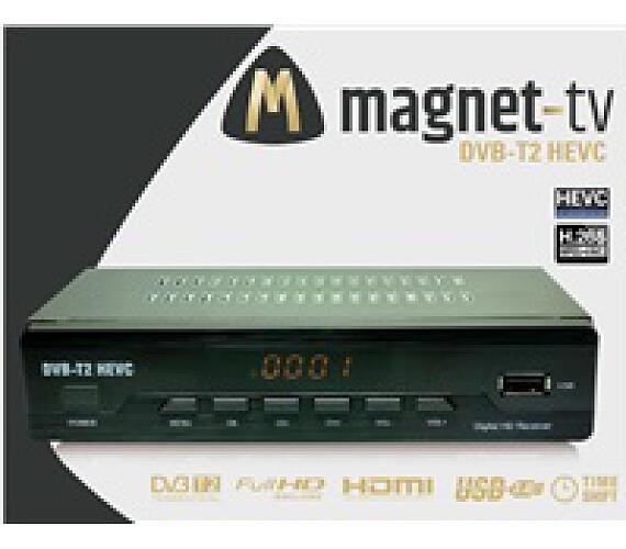 MAGNET-TV DVB-T2 HEVC (H.265) CZ DVB-T2 (8028)