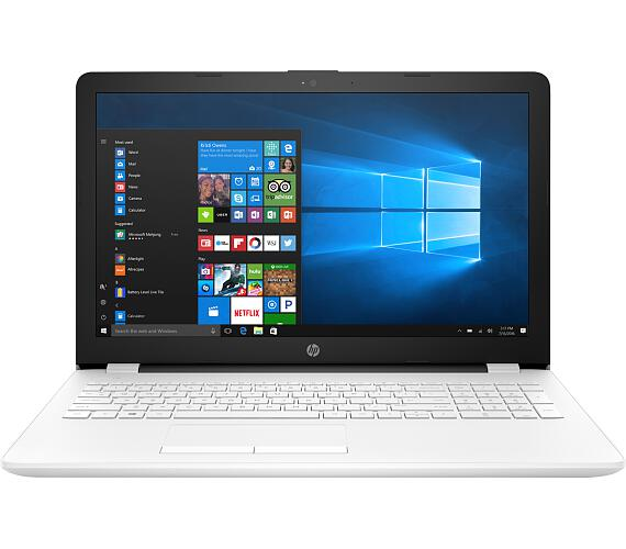 HP NTB 15-rb006nc/15,6 FHD AG SVA WLED/AMD A4-9120 APU/4GB/256GB SSD/Radeon R3/DVD-RW/WIFI+BT 4.0/WIN 10 HOME/Sněhově-bí (8KN63EA#BCM)