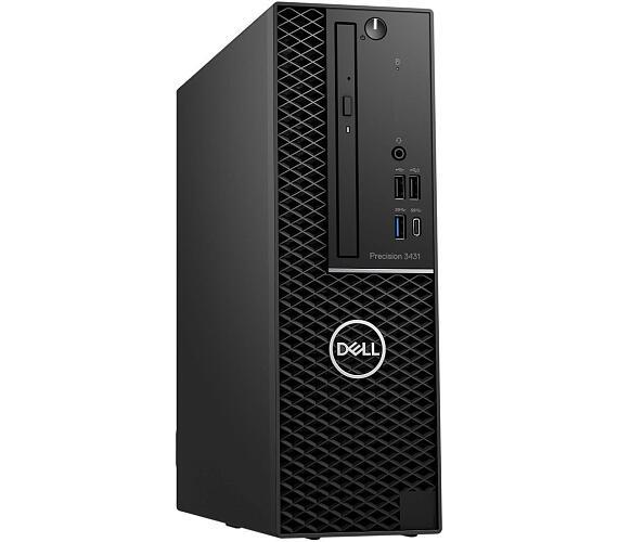 Dell Precision 3431 SF i7-9700/16GB/512GB SSD-M2/P620-2GB/DVD-RW/No-WiFi/DP/W10P/3RNBD/Černý (3431-001)