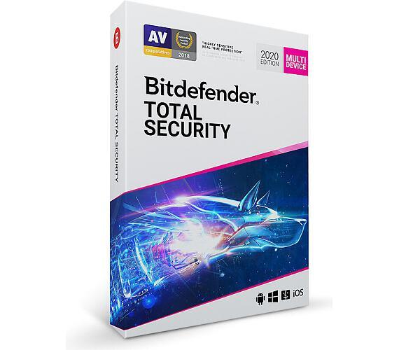 Bitdefender Total Security 2020 - 10 zařízení na 1 rok (TS01ZZCSN1210LEN)