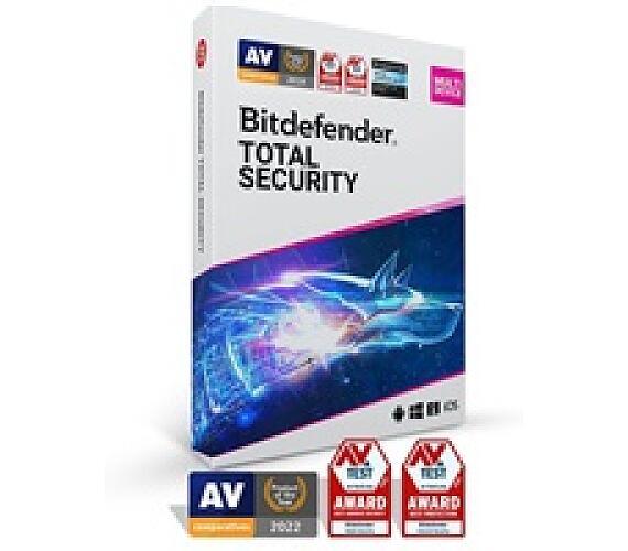 Bitdefender Total Security 2020 - 5 zažízení na 2 roky (TS01ZZCSN2405LEN)