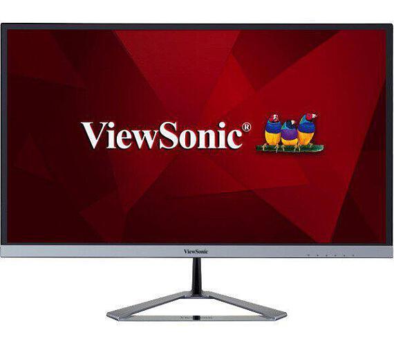 """VIEWSONIC VX2476-SMH IPS 24"""" FHD 1920x1080/250cd/4ms/75Hz/2x HDMI/VGA/VESA/Repro"""