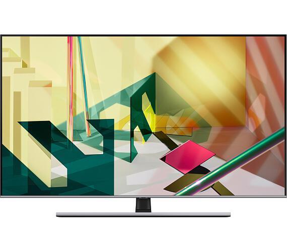 QE55Q74T QLED ULTRA HD LCD TV Samsung + DVB-T2 OVĚŘENO + DOPRAVA ZDARMA