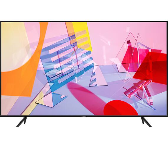 QE85Q60T QLED ULTRA HD LCD TV Samsung + CASHBACK + DVB-T2 OVĚŘENO + DOPRAVA ZDARMA