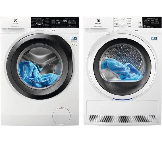 Electrolux EW7F248SC + Sušička prádla Electrolux EW8H457WC + DOPRAVA ZDARMA