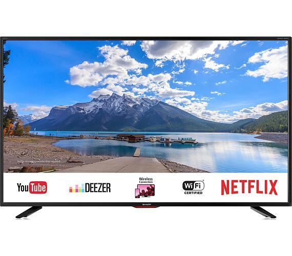 Sharp 40BJ5E SMART + DVB-T2 OVĚŘENO + DOPRAVA ZDARMA
