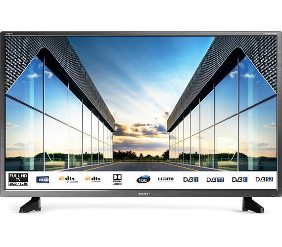 Sharp 40CF2E + DVB-T2 OVĚŘENO + DOPRAVA ZDARMA
