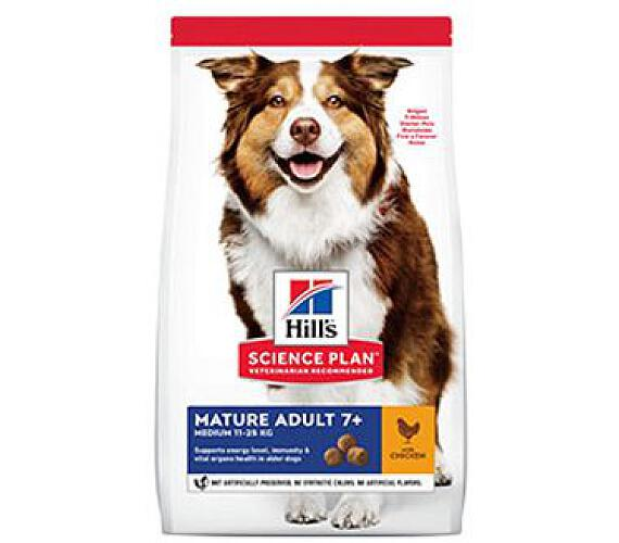 Hill's Can.Dry SP Mature Adult 7+ Medium Chicken 2,5kg
