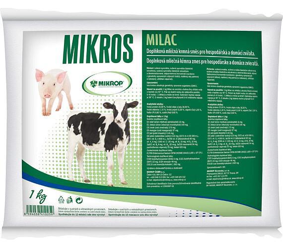 Mikrop MILAC krmné mléko tele/sele 3kg