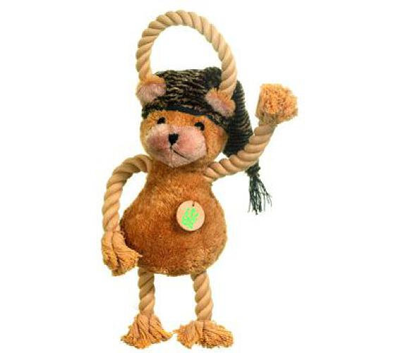 Hračka pes Medvídek plyš 45cm pískací KAR