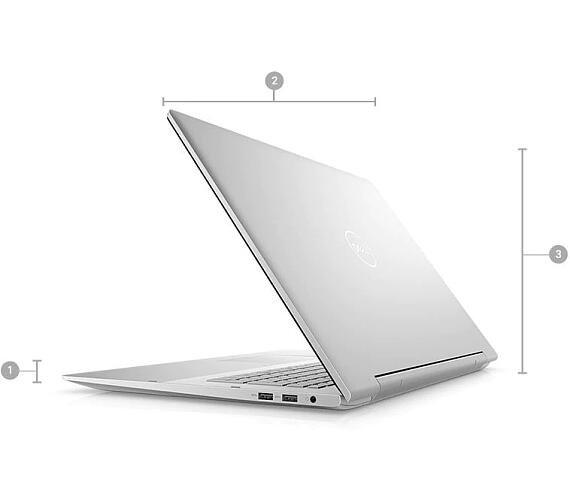 "Dell Inspiron 17 (7791)/i7-10510U/16GB/32GB Optane+512GB SSD/17,3""/FHD Touch/CAM/2GB Nvidia MX250/Win 10/stříbrný (TN-7791-N2-711S)"