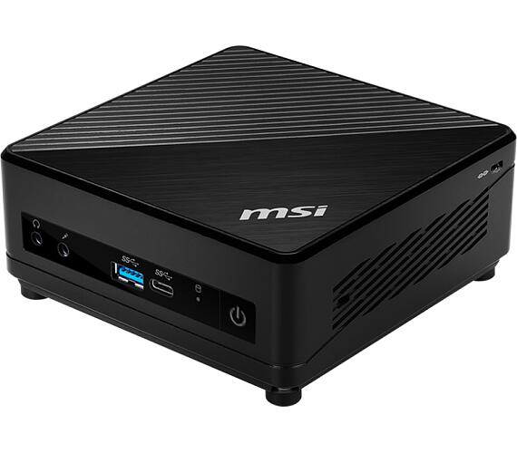 MSI PC Cubi 5 10M-007BEU /i7-10510U/Intel UHD Graphics/Wifi/USB/Bez OS/Black + DOPRAVA ZDARMA