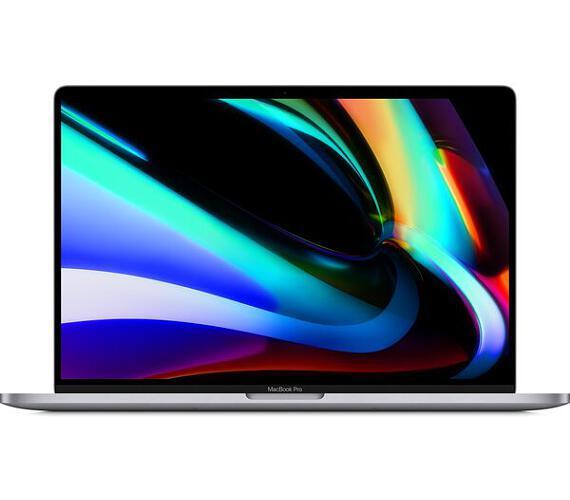 """Apple Macbook Pro 16"""" / 2,4GHz 8x i9 / 64GB / 4TB SSD / R5500M 8GB / CZ KLV / vesmírně šedý"""