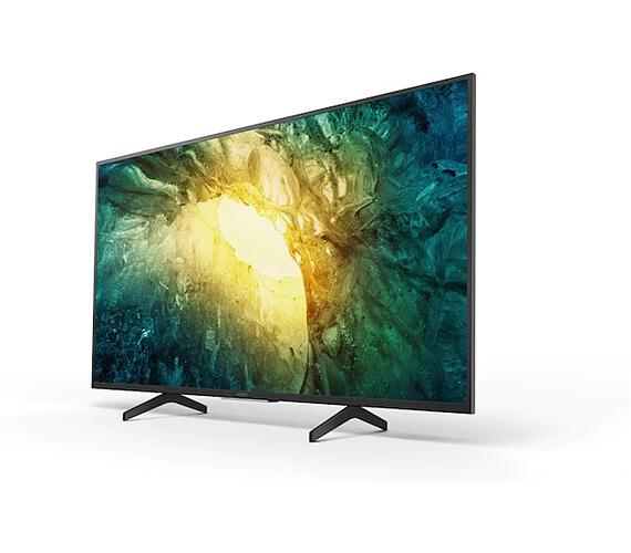 "Sony 49"" 4K HDR TV KD-49X7055BAEP (KD49X7055BAEP) + DVB-T2 OVĚŘENO"
