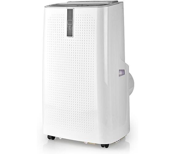 Mobilní klimatizace | 9000 BTU | 80 m | 3-Rychlostní | Dálkové ovládání | Časovač vypnutí | Bílá / Černá + DOPRAVA ZDARMA
