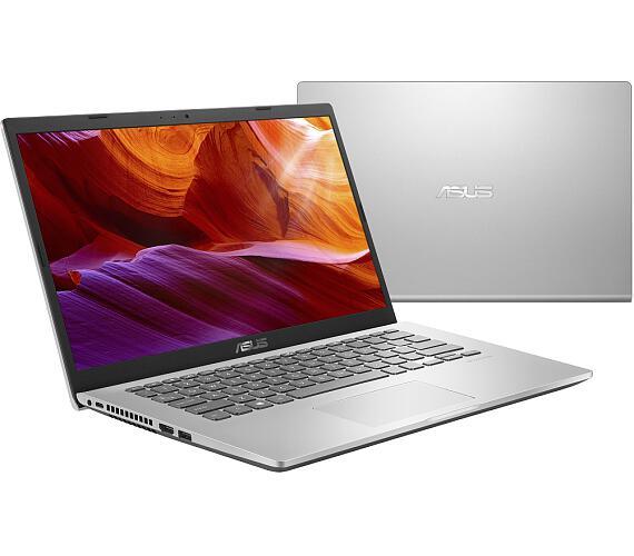 """Asus X409JA-EK022T i3-1005G1/4GB/256GB SSD/14"""" FHD/Win10/stříbrný"""