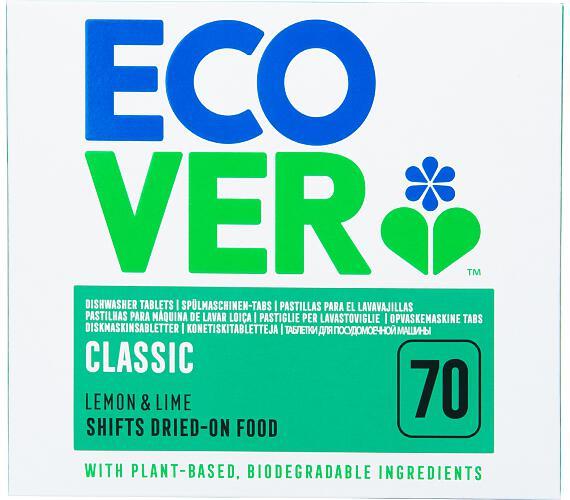 Ecover tablety do myčky Classic 1,4 kg