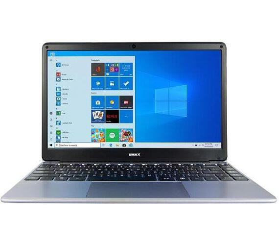 """Umax notebook VisionBook 14Wr Plus/ 14,1"""" IPS/ 1920x1080/ N4120/ 4GB/ 64GB Flash/ mini HDMI/ 2x USB/ USB-C/ W10 Pro/ šed (UMM230142)"""