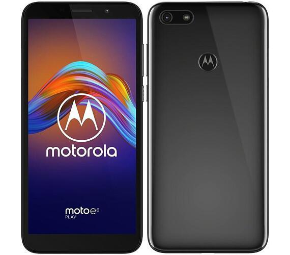 Motorola Moto E6 Play Dual SIM černá