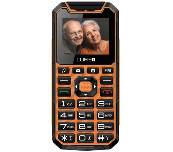 CUBE CUBE1 S400 Senior oranžový
