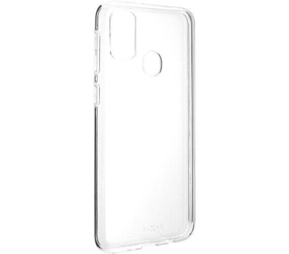 FIXED TPU pouzdro Samsung Galaxy M21 čiré