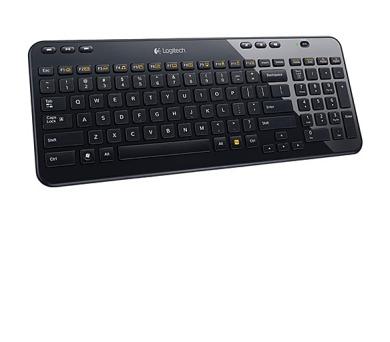 Logitech Wireless Keyboard K360 CZ/SK - černá