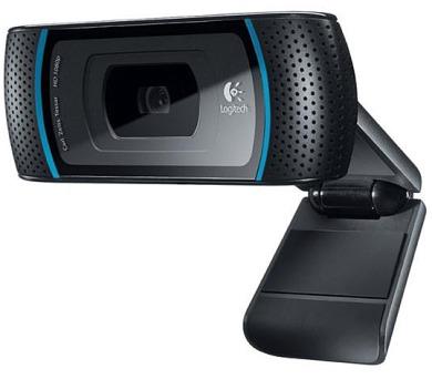 Logitech HD Webcam B910 - černá + DOPRAVA ZDARMA