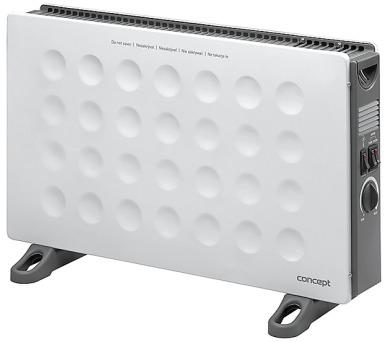 Concept KS3006 Konvektor 2000 W s turbem a montáží na zeď bílý