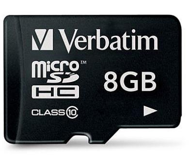 Verbatim Micro SDHC 8GB Class 10