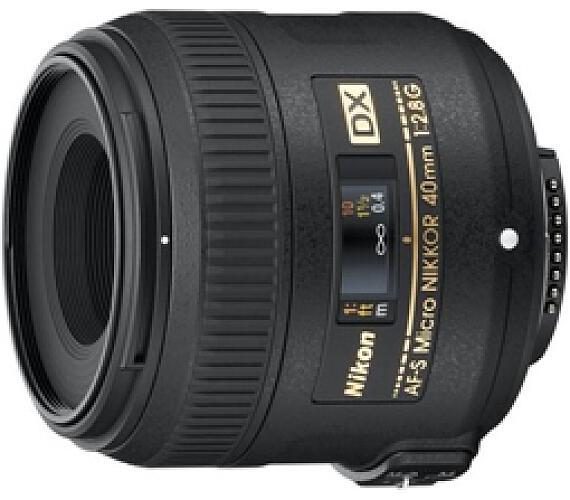 Nikon 40MM F2.8G ED AF-S DX MICRO + DOPRAVA ZDARMA