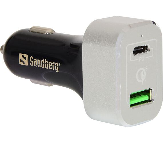 SANDBERG USB nabíječka do auta
