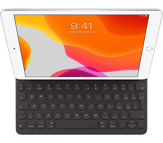 Apple Smart Keyboard pro iPad (7th gen.) a iPad Air (3rd gen.) se slovenskou klávesnicí šedý (mx3l2sl/a)