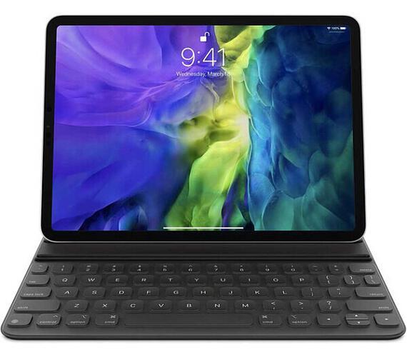"""Apple iPad Pro 11"""" (2nd gen.) Smart Keyboard Folio kryt se slovenskou klávesnicí šedý (mxnk2sl/a)"""