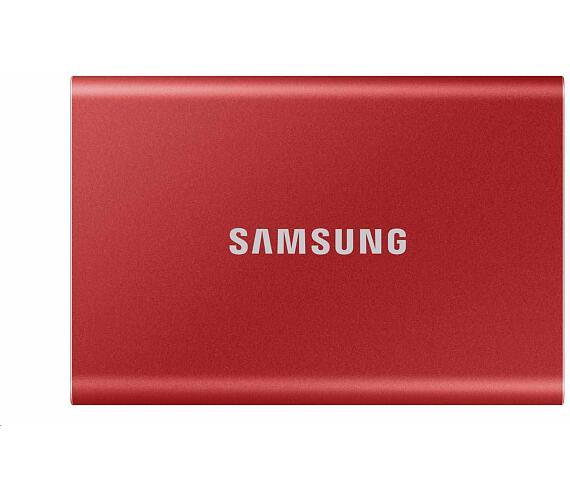 Samsung Externí SSD disk 500 GB červený (MU-PC500R/WW)