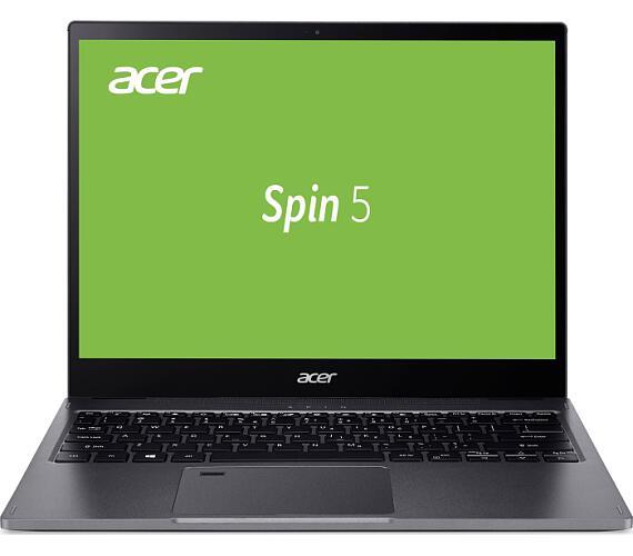 "Acer Spin 5 (Design 2020) - 13,5T""/i5-1035G4/8G/512SSD/3:2/W10 šedý + stylus (NX.HQUEC.001)"
