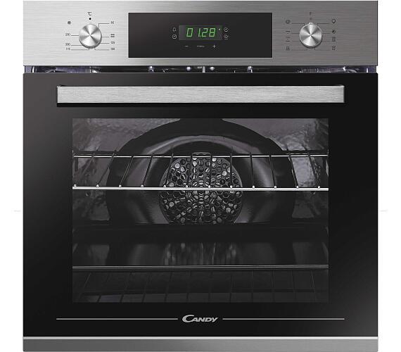 Candy FCT615X + DÁREK plech na pečení*