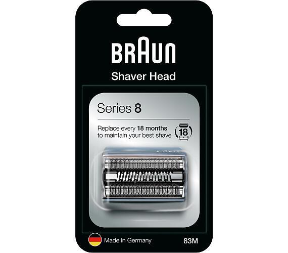 Braun Combipack Series 8-83M stříbrný + DOPRAVA ZDARMA