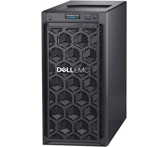 Dell PowerEdge T140/ Xeon E-2224/ 16GB/ 2x 4TB 7.2k NLSAS/ H330+/ DVDRW/ 2x GLAN/ iDRAC 9 Basic/ 3Y Basic on-site (YN5F0)