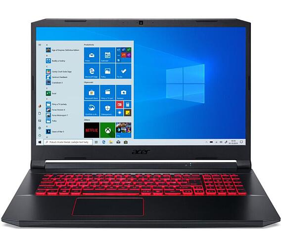"Acer Nitro 5 (AN517-52-53LP) Core i5-10300H/8GB+8GB/1TB SSD/17,3"" FHD IPS LCD/RTX 2060/W10 Home/Black (NH.Q8KEC.003)"